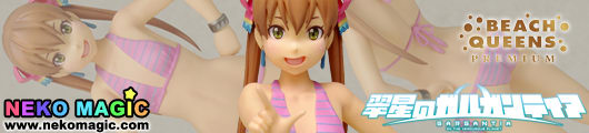 Gargantia on the Verdurous Planet – Melty Beach Queens Premium 1/10 Polystone figure by WAVE