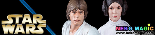 Star Wars – Luke Skywalker & Princess Leia 1/10 PVC figure set by Kotobukiya