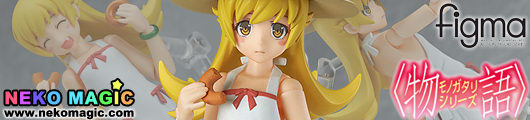 Monogatari series – Oshino Shinobu figma 239 action figure by Max Factory