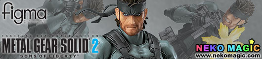 Metal Gear Solid 2: Sons of Liberty – Solid Snake MGS2 Ver. figma 243 action figure by Max Factory