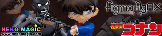 Detective Conan – Edogawa Conan figFIX & Criminal figma SP 001 figure set by FREEing