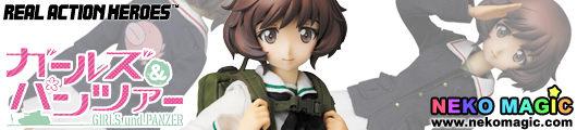Girls und Panzer – Akiyama Yukari Real Action Heroes 690 30cm doll by Medicom Toy