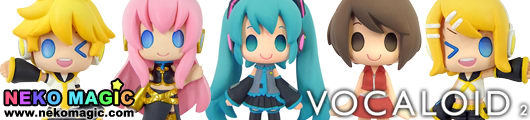 Vocaloid   Color Collect Hatusne Miku trading figure by MOVIC