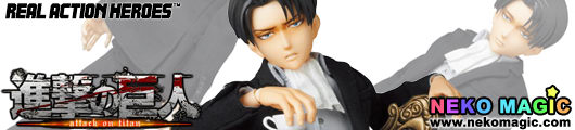 Attack on Titan – Levi Suit Ver. Real Action Heroes 697 30cm doll by Medicom Toy