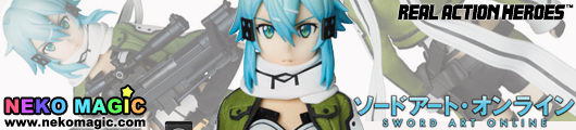 Sword Art Online – Sinon Real Action Heroes 698 30cm doll by Medicom Toy
