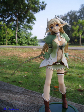 Review: Shining Wind Elwing la Sylphis 1/8 PVC figure by Kotobukiya