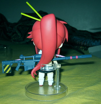 Review: Tengen Toppa Gurren Lagann Yoko Ritona Nendoroid No.53 action figure by Good Smile Company